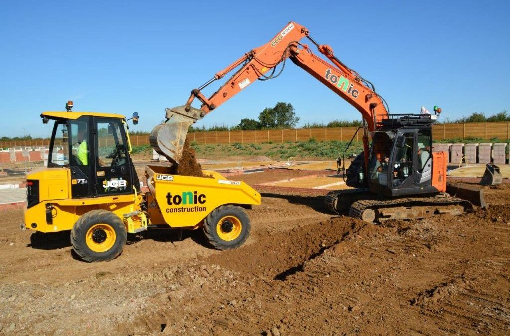 Hi-Vis takes dumper safety to another level for Tonic
